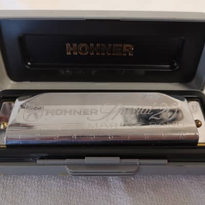 Hohner Special 20 Marine Band Harmonica in Key B - Good Used Condition With Case -