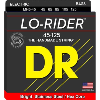 DR Lo-Rider Bass Strings 45-125