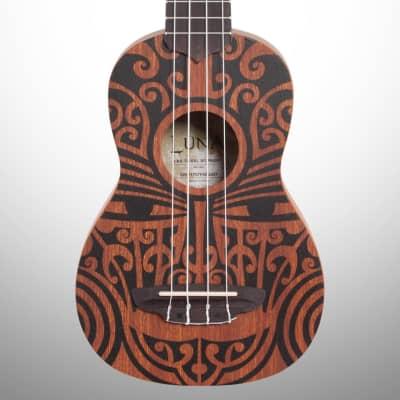 Luna Tribal Soprano Ukulele for sale