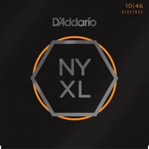 D'Addario NYXL1046 Nickel Wound Electric Guitar Strings, Regular Light Gauge
