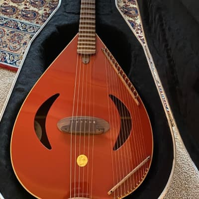 Versoul  Caspian 6-String Sitar Guitar 1997 Red for sale
