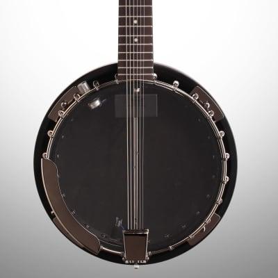 Dean Backwoods 6 Electric Banjo with Pickup, Black Chrome for sale