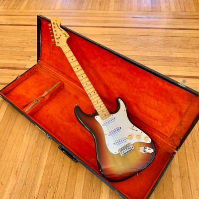 Greco Super Sounds 1978 Sunburst original vintage mij japan strat Stratocaster for sale