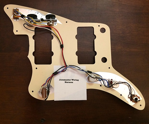 Jazzmaster Wiring Harness | Saturnalia Guitars on gibson les paul wiring harness, fender stratocaster wiring harness, p bass wiring harness, les paul custom wiring harness, tele wiring harness, fender jaguar wiring harness,