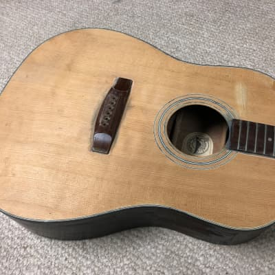 MIK Vintage Jackson Charvel Model 550 Acoustic Guitar *Project for sale