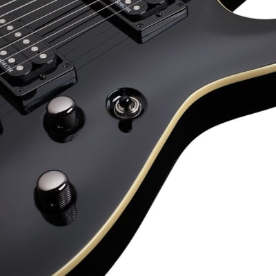 Schecter OMEN-7  Black for sale
