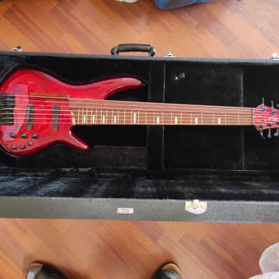 Brand New - Ibanez SRAS7-RSG 7strings Fretted/Fretless Hybrid Bass (Worldwide Free Shipping)