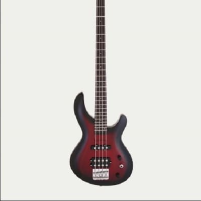 Aria IGB STANDARD MRS  IGB Electric Bass Guitar, Red Shade for sale