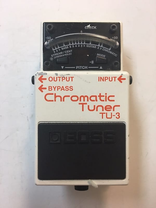 boss roland tu 3 chromatic tuner guitar bass effect pedal tu3 reverb. Black Bedroom Furniture Sets. Home Design Ideas