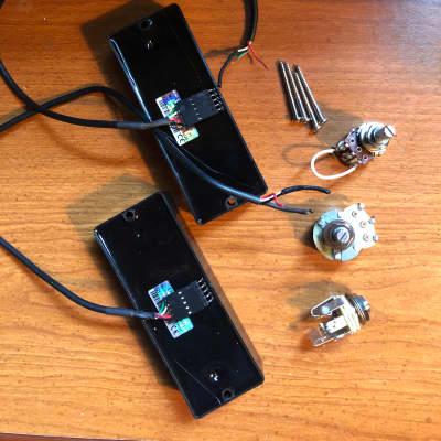 EMG 40HZ bass pickup set + vol / blend / output