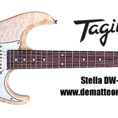 Tagima Stella DW-TBKF 6-String Electric Guitar, Color: Transparent Black Fade for sale