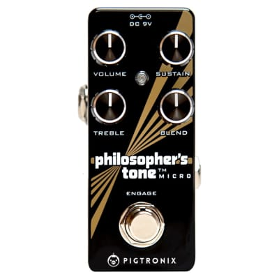 Pigtronix PTM Philosopher's Tone Micro Effect Pedal
