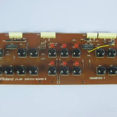 Roland JX-8P Analog Synthesizer Switch Panel board 2