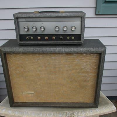 Silvertone Model 1483 Bass/Guitar Piggyback Amplifier