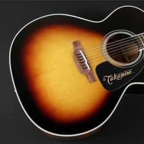 Takamine P6JC-BSB Pro Series Jumbo Acoustic/Electric Cutaway - Brown Sunburst (293) for sale
