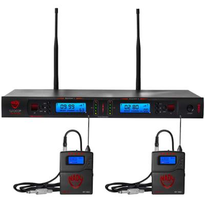 Nady 2W-1KU GT Dual True Diversity 1000-Channel UHF Wireless Instrument System