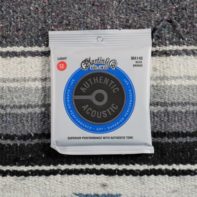 Martin Strings 80/20 Bronze Acoustic Strings Light