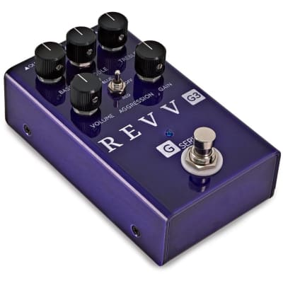 Revv G3 Pedal Distortion Effect Pedal for sale