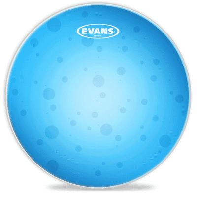 "Evans TT06HB Hydraulic Blue Drum Head - 6"""