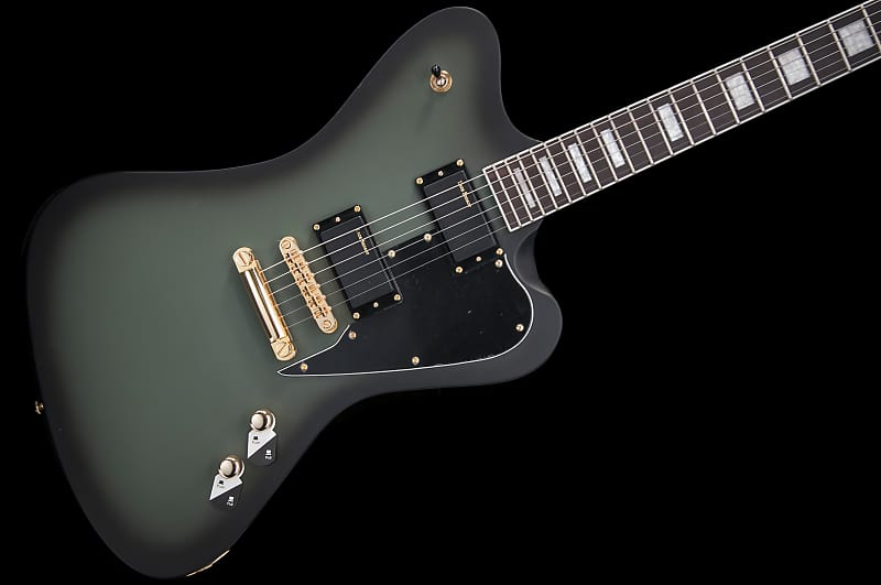 esp ltd bill kelliher sparrowhawk 2017 military green reverb. Black Bedroom Furniture Sets. Home Design Ideas