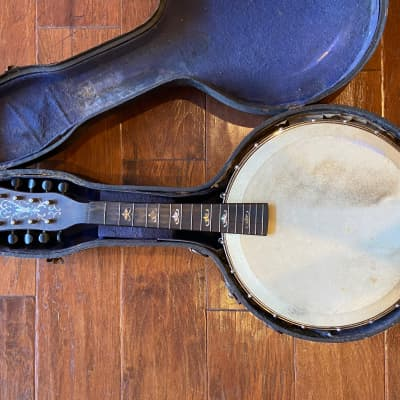 Orpheum No.1 Mandolin Banjo Project with Original Case