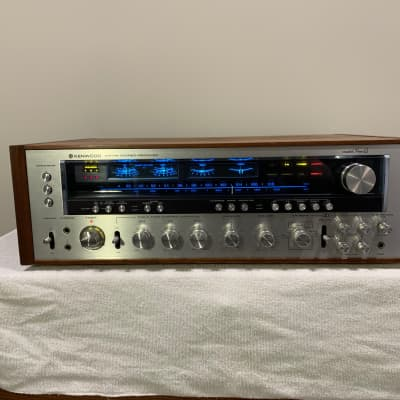 Kenwood KR-9000G (Nine G) 1978 Silver / Wood