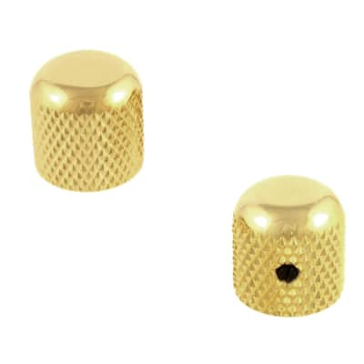 Dome Knobs for Solid Shaft Pots  Gold MK-0110-002