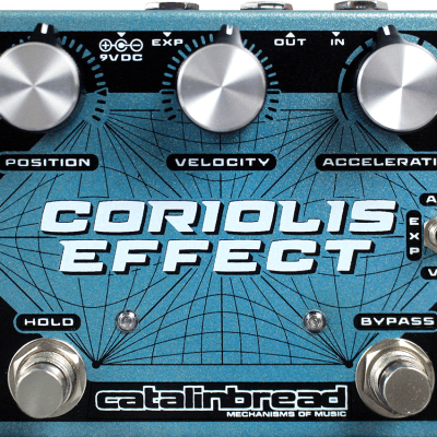 Catalinbread Coriolis Wah Filter and Pitch Shift