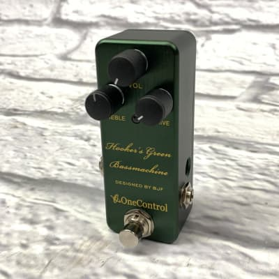 One Control Hooker's Green Bassmachine Overdrive for sale