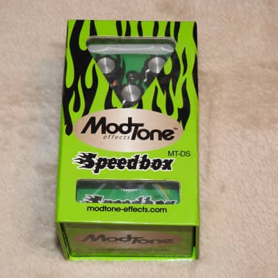 Modtone Speedbox Distortion XL Pedal MT-DS  Brand New!