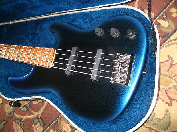 fender jazz bass plus v 1992 blue burst lace sensor pickups reverb. Black Bedroom Furniture Sets. Home Design Ideas