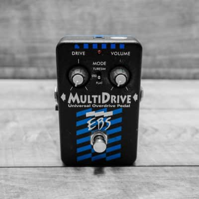 EBS Multi-Drive Universal Bass Overdrive Pedal
