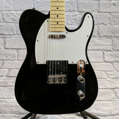 New York Pro Tele Electric Guitar - Black for sale