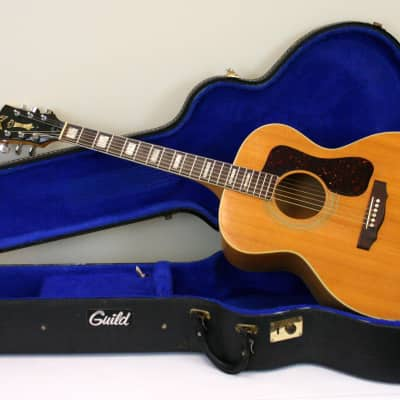 41e2f4b6ffd58 Guild 1978 F-40 Blonde Acoustic Guitar with Original Case