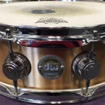 DW 5x14 Cast Bronze Collector's Series Snare Drum image