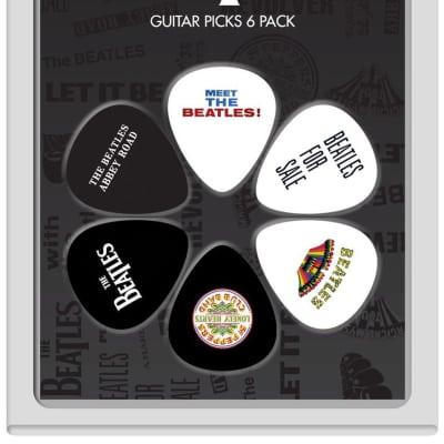 New Perri's Leathers LP-TB1 Beatles Guitar Picks - 6 Pack
