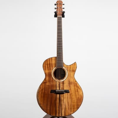 Maestro Custom Series Raffles KO CSB K Acoustic Guitar, Pacific Koa for sale