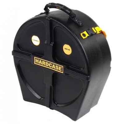 Hardcase HN14S High Impact Snare Drum Case, Black