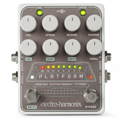 Electro-Harmonix EHX Platform Stereo Compressor / Limiter Effects Pedal