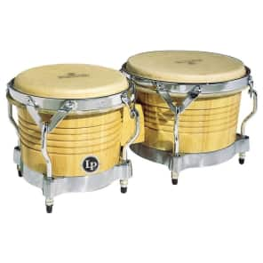 Latin Percussion M201-AWC Matador Series Wood Bongos