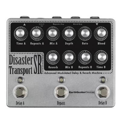 EarthQuaker Devices Disaster Transport Sr. - Advanced Modulated Delay and Reverb
