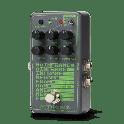 EHX Electro-Harmonix Mainframe Bit Crusher Guitar Effects Pedal