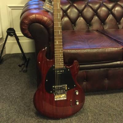 Shergold SM01-SD Masquerader 1 Thru-cherry for sale