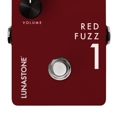 Lunastone Red Fuzz 1 for sale