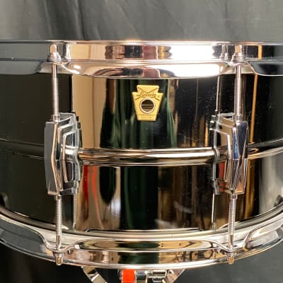 Ludwig Black Beauty 6.5x14 Snare Drum (video demo)