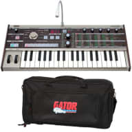Korg microKORG Synthesizer / Vocoder PERFORMER PAK