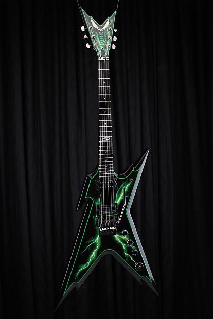 dean dime series razorback slimebolt electric guitar with reverb. Black Bedroom Furniture Sets. Home Design Ideas