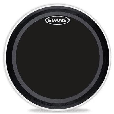 "Evans BD20EMADONX EMAD Onyx Bass Drum Head - 20"""