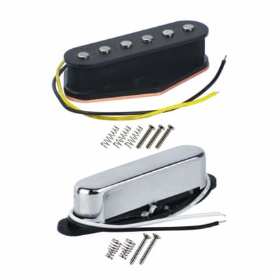 Guitar Pickup Set For Telecaster Alnico 5 Bridge And Neck 6k to 7k Free Shipping