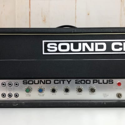 Sound City 200 + plus mk4  KT88 valves amp for sale